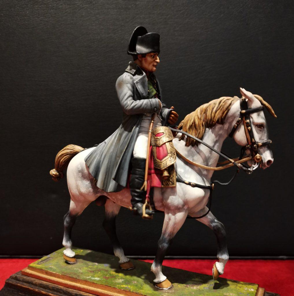 Figurine Napoléon à cheval